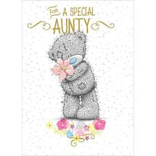 Special Aunty Me to You Bear Birthday Card