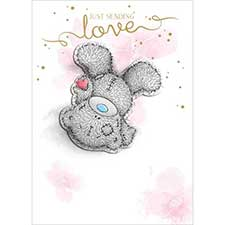 Just Sending Love Me to You Bear Card