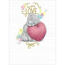 Sending Love Me to You Bear Card