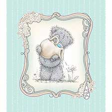 Tatty Teddy with Flower Me to You Bear Birthday Card