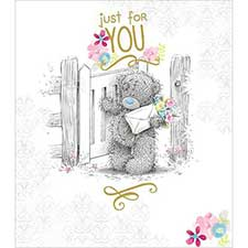Just For You Me to You Bear Card