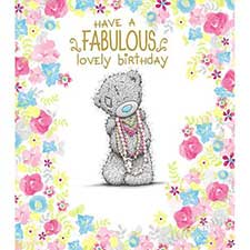 Fabulous Lovely Birthday Me to You Bear Card