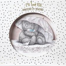 Love You Whatever The Weather Pop Up Me to You Card