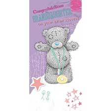 Granddaughter Exam Congratulations Me to You Bear Card