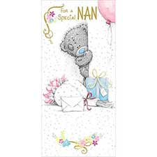 Special Nan Birthday Me to You Bear Card