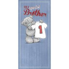 Special Brother Me to You Bear Birthday Card