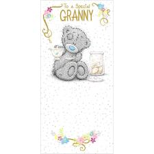 Granny Me to You Bear Birthday Card