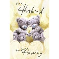 Husband on Our Anniversary Me to You Bear Card
