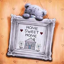 New Home Square Me to You Bear Card