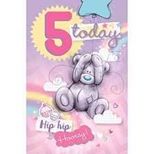 5 Today Me to You Bear Birthday Card
