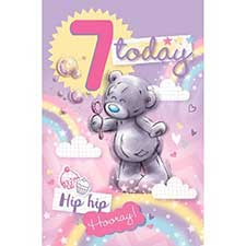 7 Today Me to You Bear Birthday Card