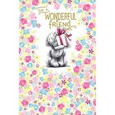 Wonderful Friend Me to You Bear Birthday Card