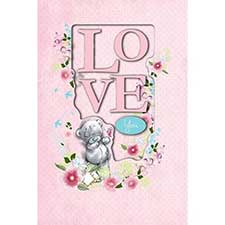 Love You Me to You Bear Card
