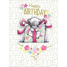 Happy Birthday Giant Gift Me to You Bear Card