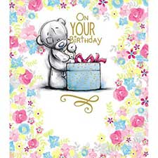 On Your Birthday Me to You Bear Birthday Card