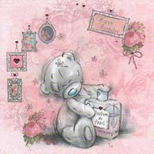 Bear With Perfume Birthday Me to You Bear Card