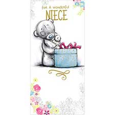 Wonderful Niece Birthday Me to You Bear Card