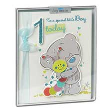 1st Birthday Boy Me to You Bear Handmade Boxed Card