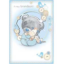 New Grandson Me to You Bear Card