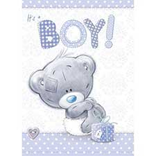 It's a Boy New Baby Me to You Bear Card