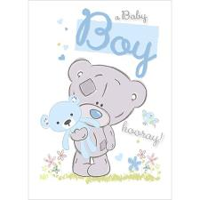 New Baby Boy Me to You Bear Card