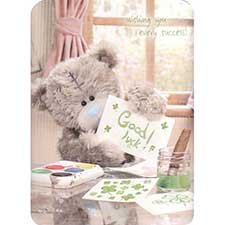 Good Luck Me to You Bear Card