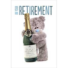 Retirement Me to You Bear Card