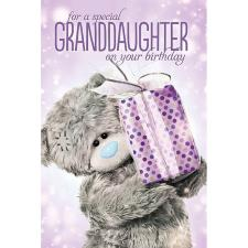 Special Granddaughter Me to You Bear Birthday Card