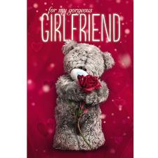 3D Holographic Gorgeous Girlfriend Me to You Bear Birthday Card