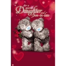3D Holographic Daughter & Son in Law Anniversary Card