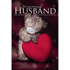 3D Holographic Husband Me To You Bear Birthday Card