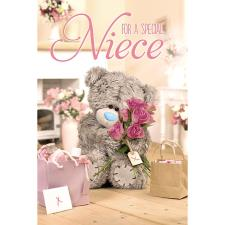 3D Holographic Special Niece Me to You Bear Birthday Card