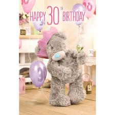 3D Holographic 30th Me to You Bear Birthday Card