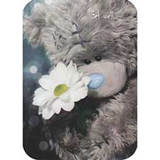 Get Well Me to You Bear Card