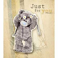 Just For You Tatty Teddy with Daisies Me to You Bear Card