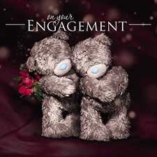 3D Holographic Engagement Me to You Bear Card