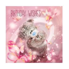 3D Holographic Butterflies Me to You Bear Birthday Card