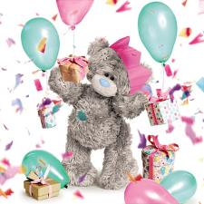 3D Holographic Birthday Celebration Me To You Bear Birthday Card