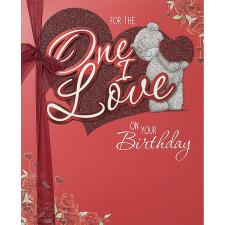 One I Love Birthday Me to You Bear Luxury Boxed Card
