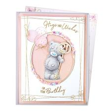 Hugs & Wishes 21th Birthday Me to You Bear Boxed Card