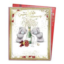 Gorgeous Wife Me to You Bear Anniversary Boxed Card