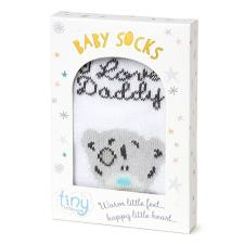 Tiny Tatty Teddy I Love Daddy Me to You Bear Boxed Baby Socks