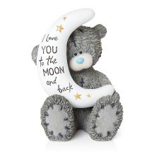 Love You To The Moon And Back Me to You Bear Figurine