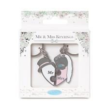 Mr & Mrs 2 Part Me to You Bear Keyring
