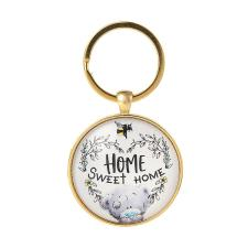 Home Sweet Home Me to You Bear Key Ring