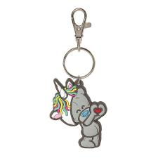 My Dinky Unicorn Hat Me To You Bear PVC Key Ring