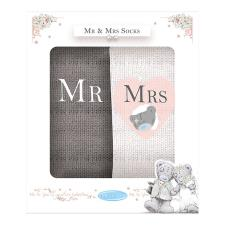 Mr & Mrs Me to You Bear Boxed Socks