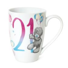 21st Birthday Me To You Bear Boxed Mug