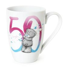 50th Birthday Me To You Bear Boxed Mug