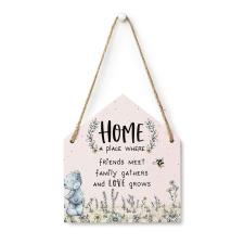 Me to You Bear Hanging Home Verse Plaque